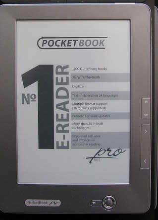 Фото читалки PocketBook Pro 603